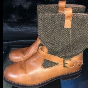 RALPH LAUREN Leather Casual Boots
